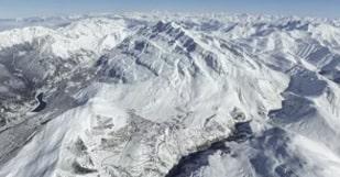 vue montagne Méribel