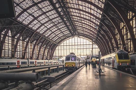 Train gare de Genève Aéroport