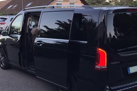 Transport privé de 1 à 7 passagers