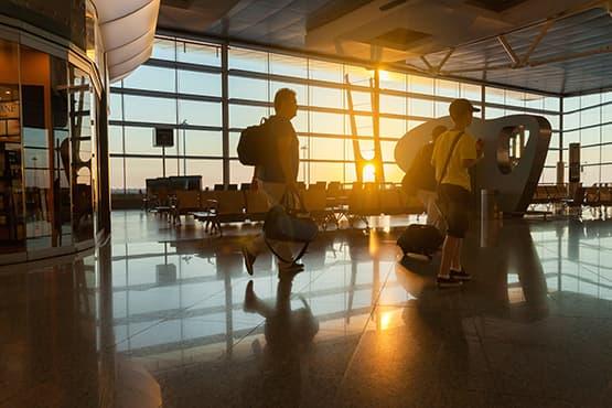 terminal départ aéroport Genève